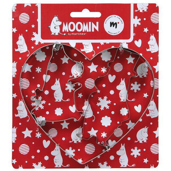 Moomin Christmas Cookie Cutter 3 pcs - .