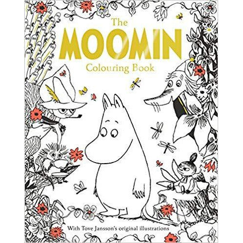 The Moomin Colouring Book - .