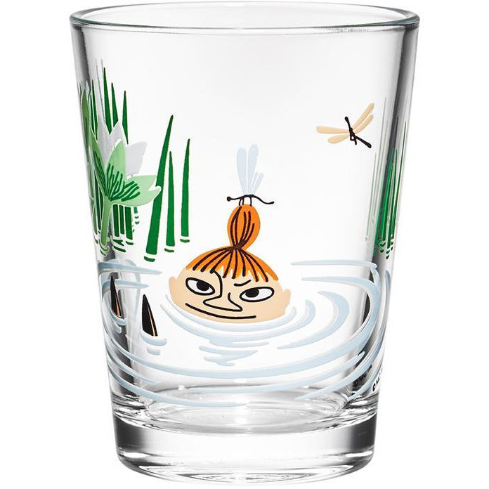 Moomin Glass 22 cl Little My - .