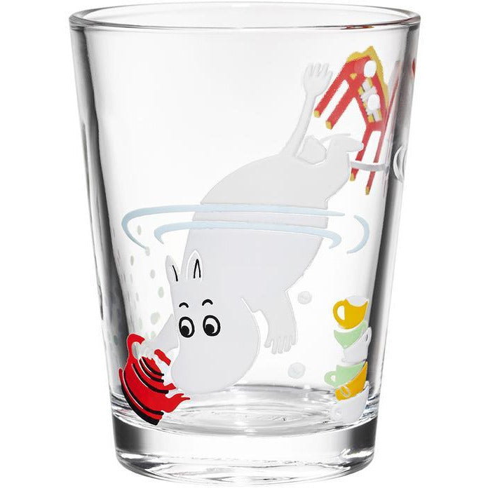 Moomin Glass 21cl Moomintroll - .
