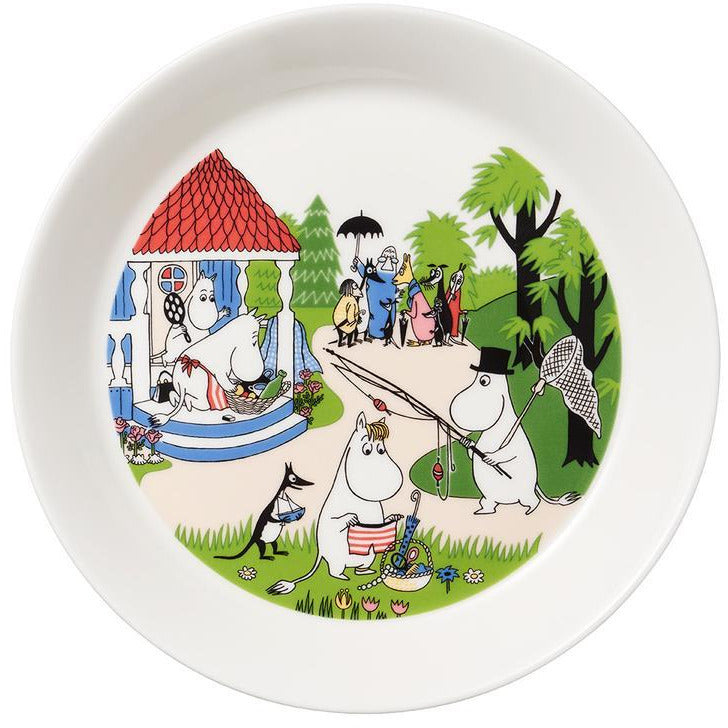 Moomin Summer Plate 2018 Going On Vacation