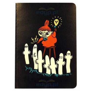 Wax cover notebook A6 color edge