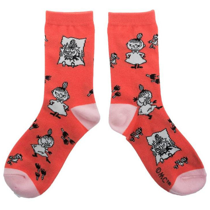 Moomin Socks Little My Orange