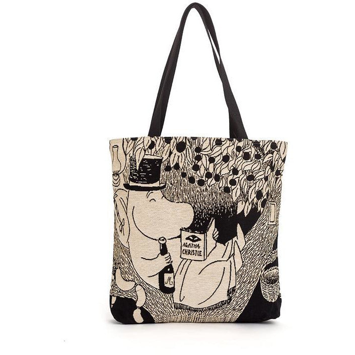 Jacquard bag Moominpappa Reading In Tree - .
