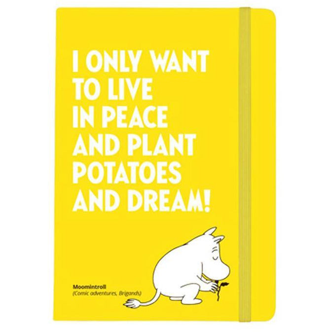 Soft Cover Notebook Plant Potatoes