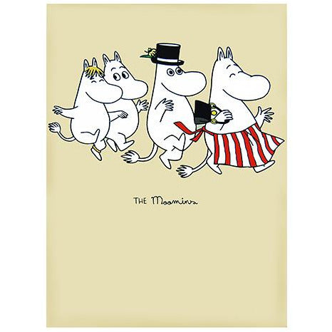 Greeting Card Family Dancing - .