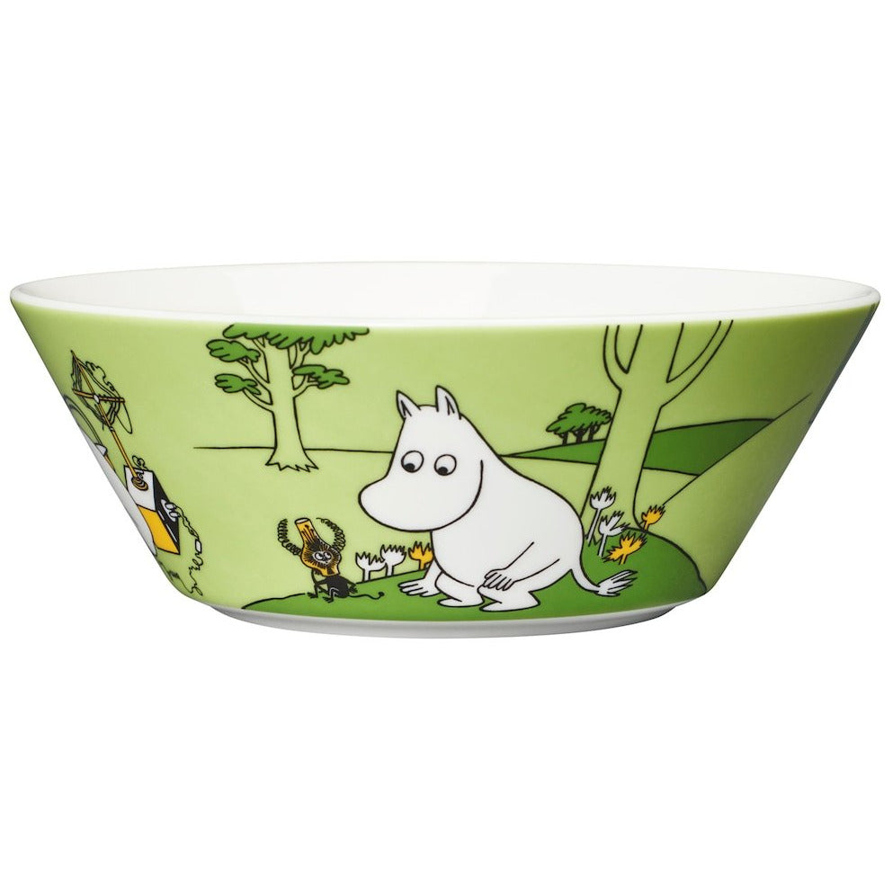 Moomin Bowl Moomintroll Grass Green - .