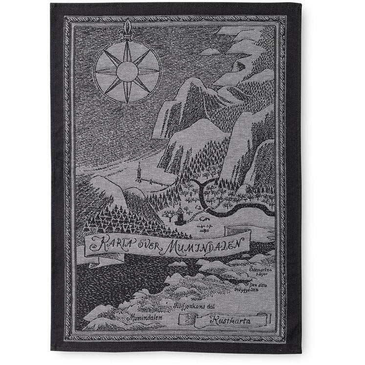 Kitchen Towel Map Over Moominvalley - .