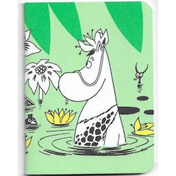 Moomin Mini Notebook In The Pond - .