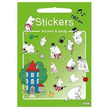 Stickers Set Moomin & Family - .