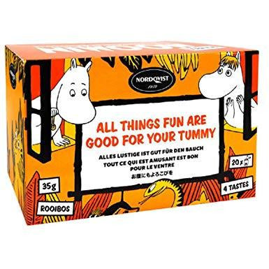 Moomin Tea All Things Fun Are Good For Your Tummy - .