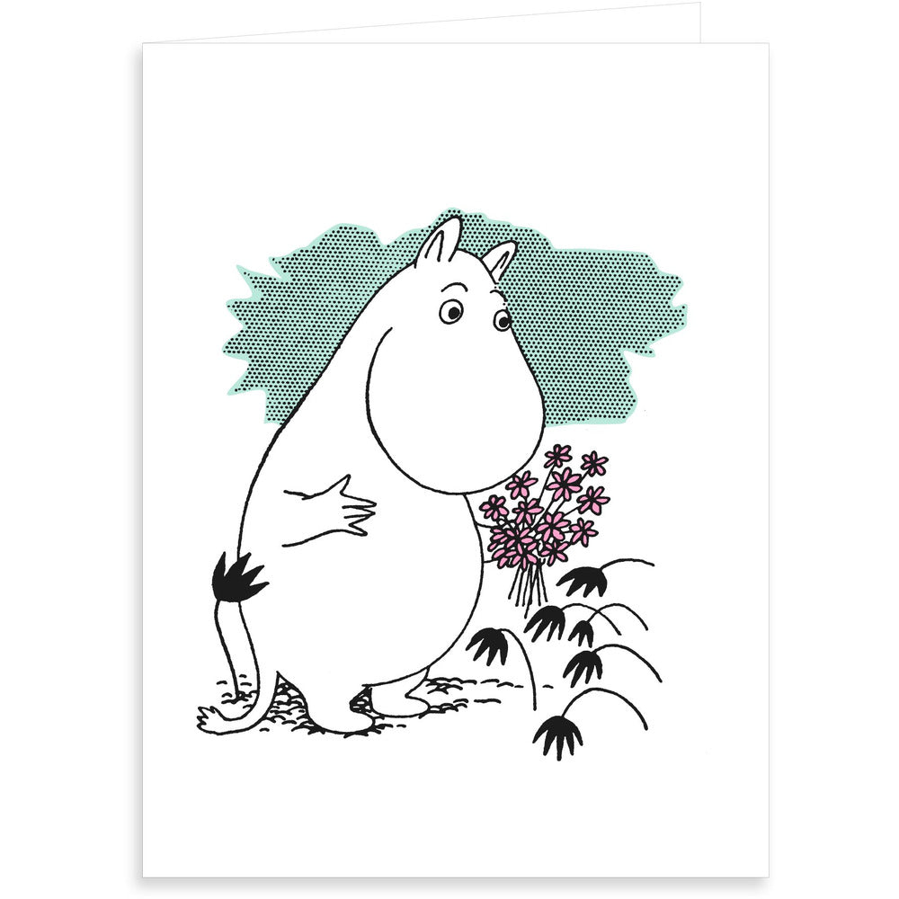 Greeting Card Moomintroll - .