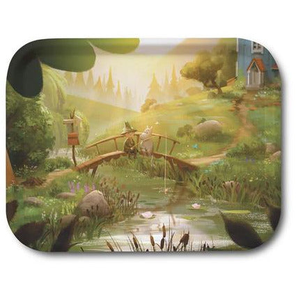 Moomin Tray Moominvalley The Last Dragon 27 x 20 cm