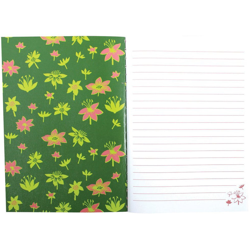 A6 Notebook I Only Want To Live In Peace Moomintroll Green - .