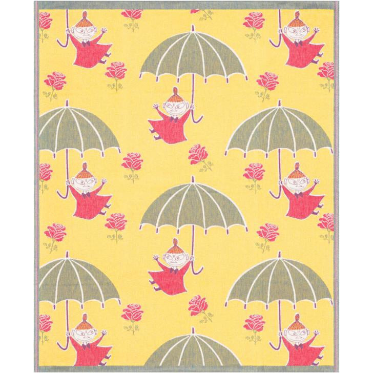 Organic Baby Blanket Little My With Umbrella