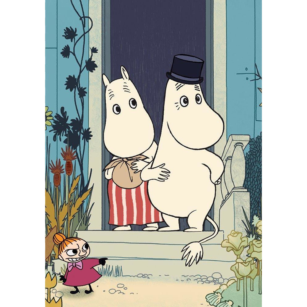 Greeting Card At The Doorstep - .
