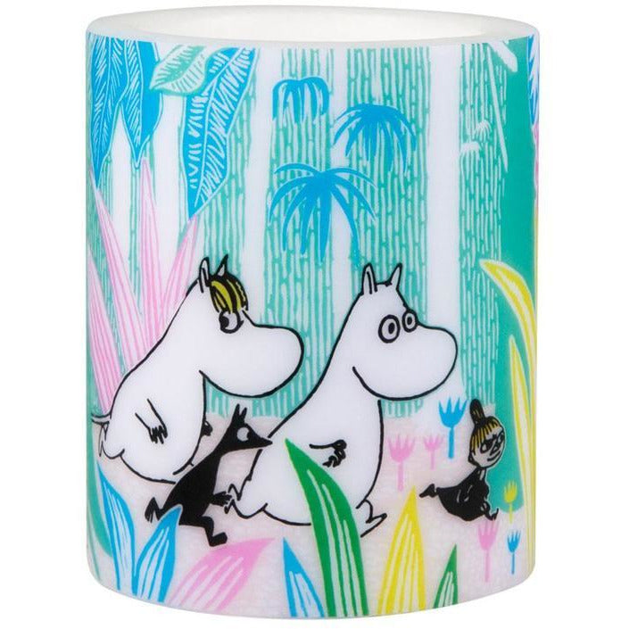 Moomin Candle In The Jungle large - .