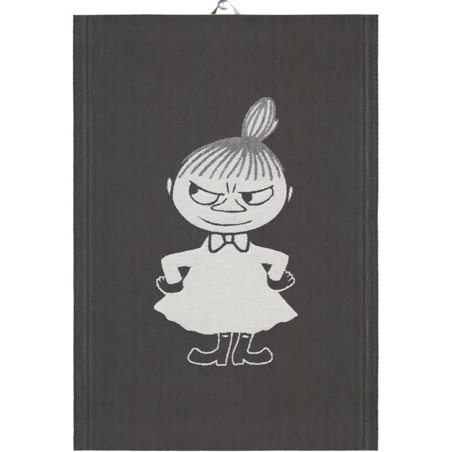 Big Little My Kitchen Towel Black By Ekelund - .