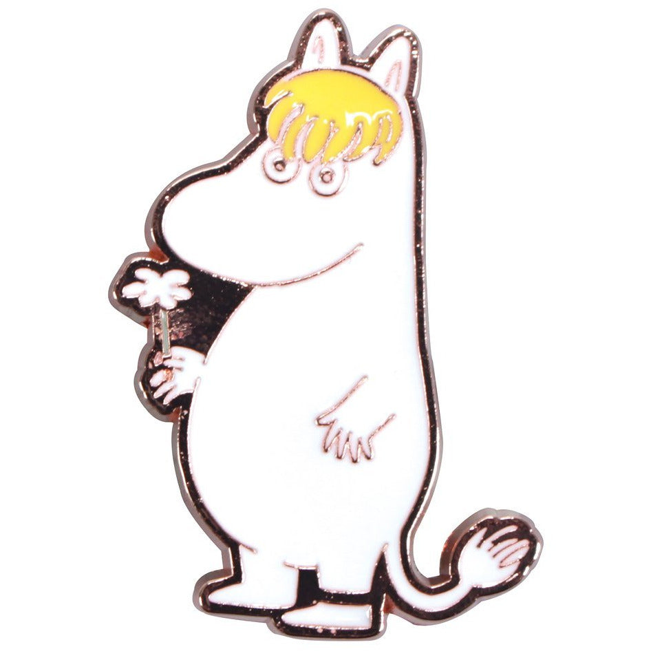 Moomin Metal Pin Badge Snorkmaiden - .