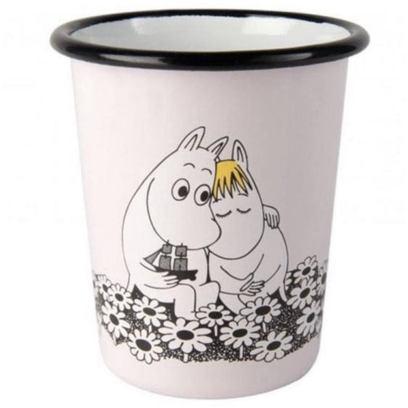 Moomin Enamel Tumbler Together Forever - .