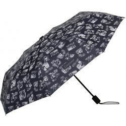 Moomin On Vacation Black Umbrella - .