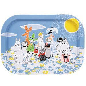 Moomin Summer Day Tin Tray - .
