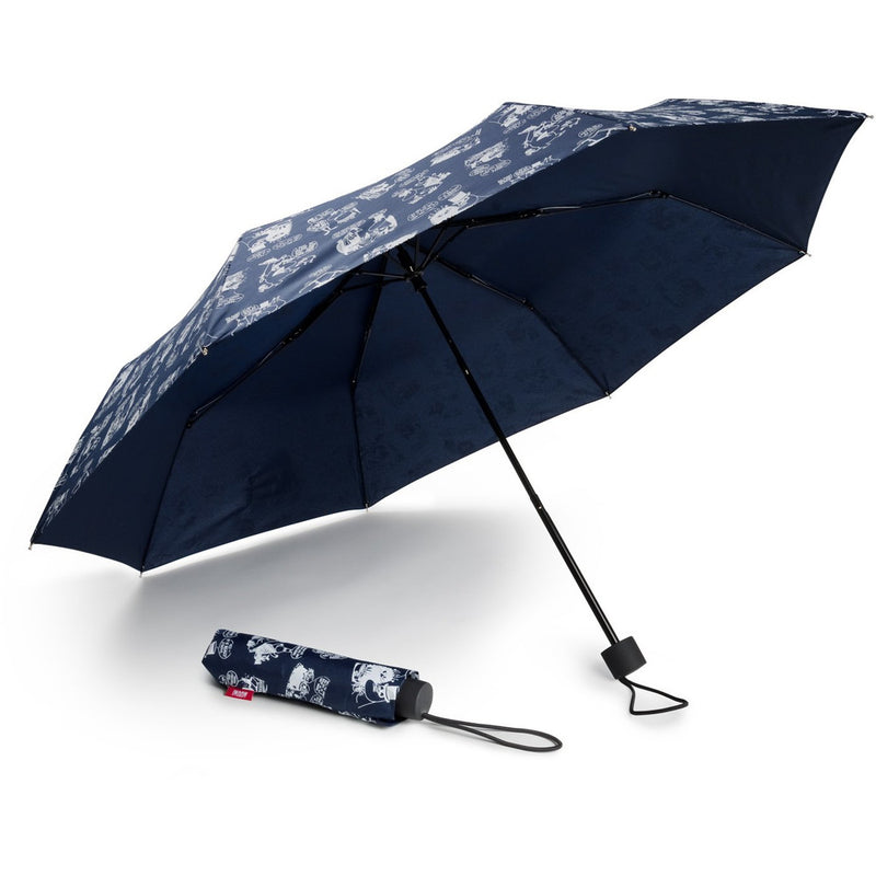 Moomin On Vacation Blue Umbrella - .