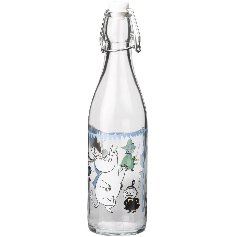 Moomin Glass Bottle Summer Party 0.5 L - .