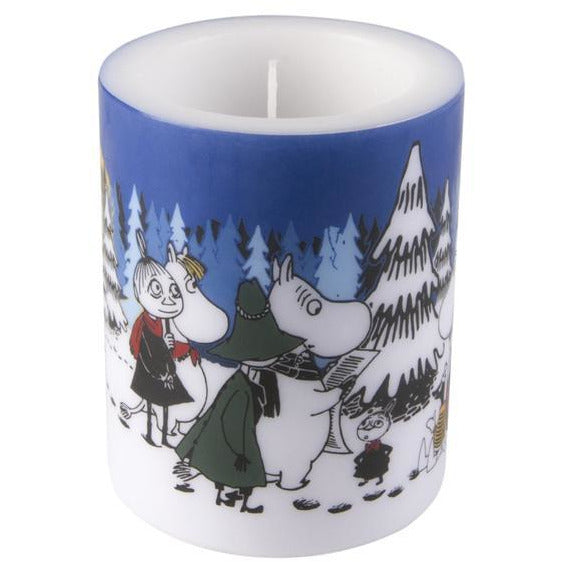 Moomin Candle Winter Forest large - .