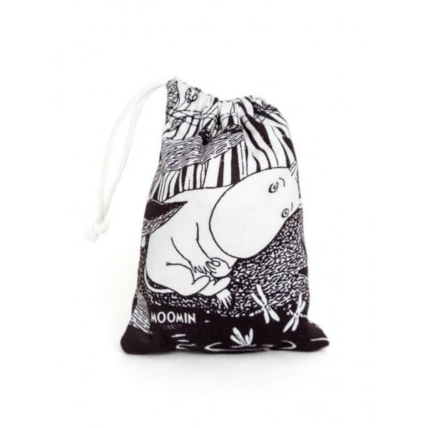 Small Accessories Pouch Dreaming Moomin Black And White - .