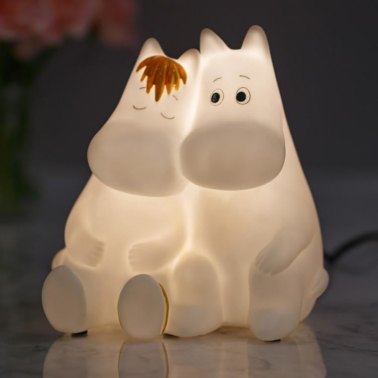 Moomin Table Light Love Moomintroll And Snorkmaiden - .