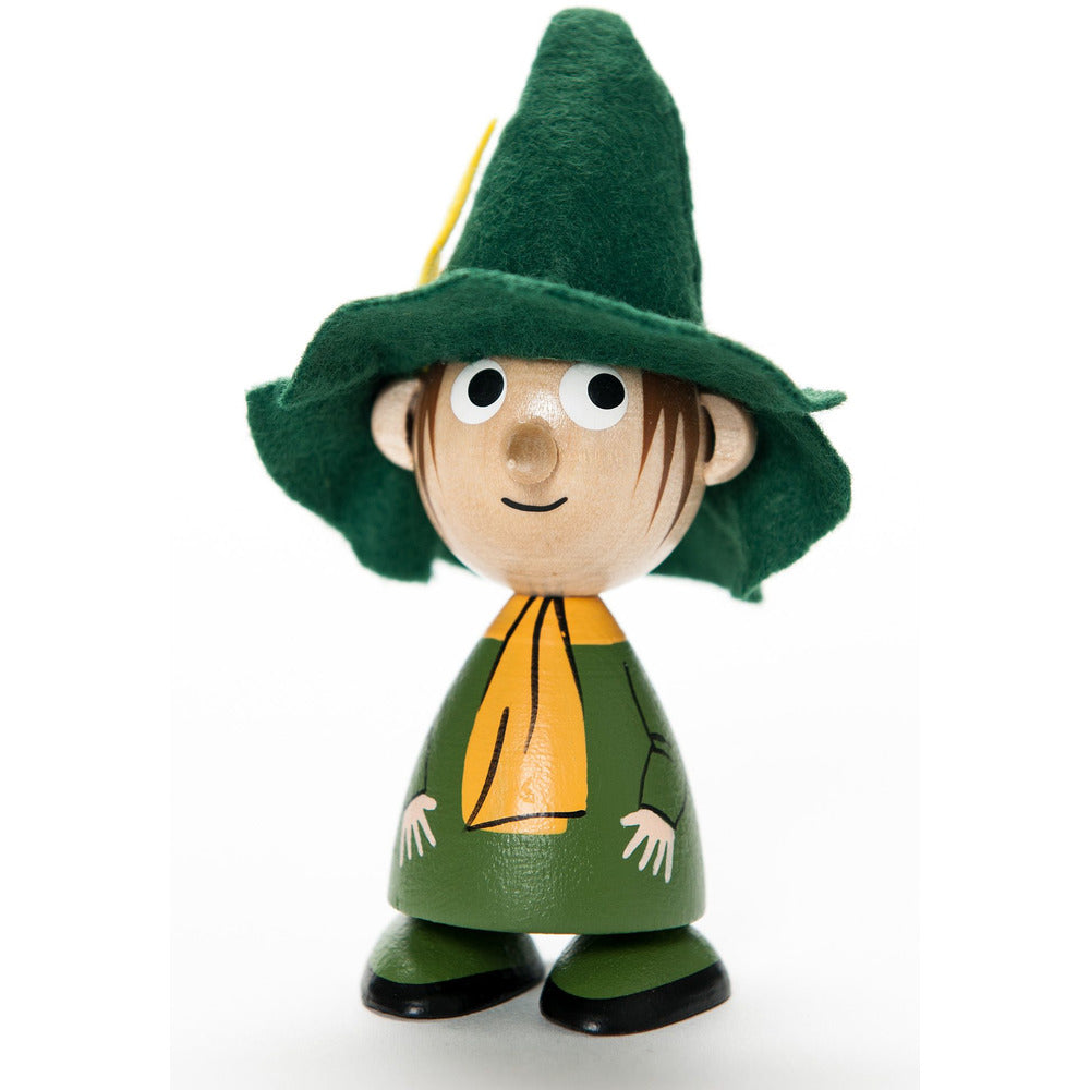 Mini Wooden Doll Snufkin - .