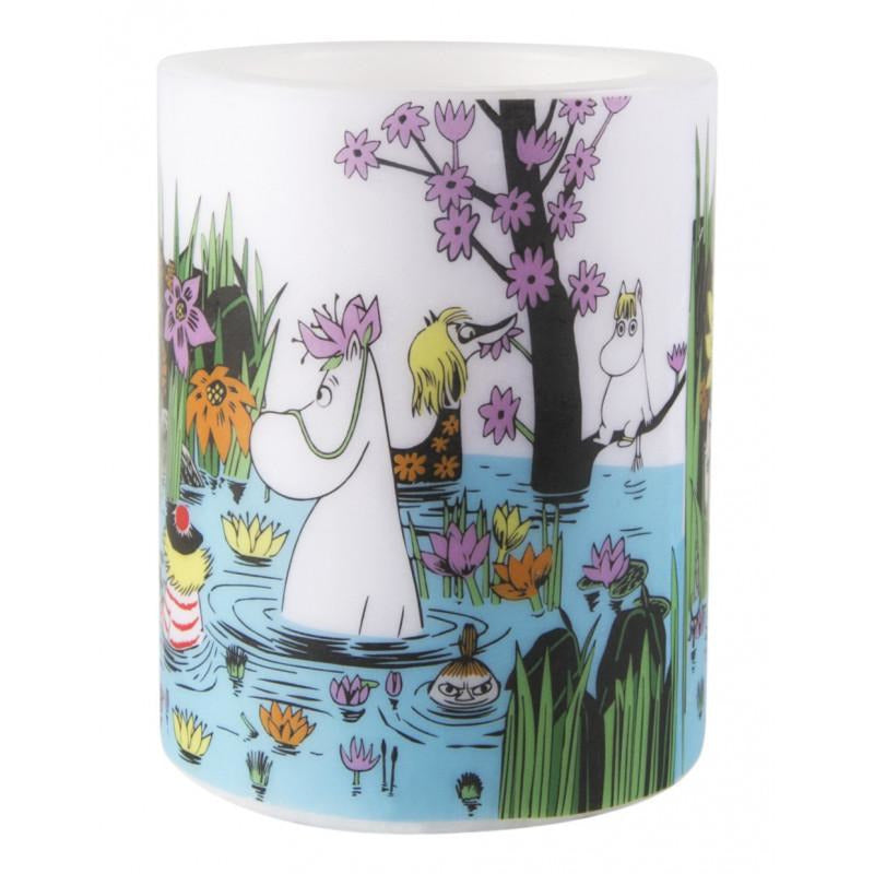 Moomin Candle Trip To The Pond large - .