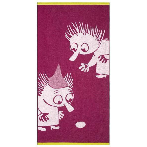 Bath Towel Thingumy And Bob Fuchsia - .