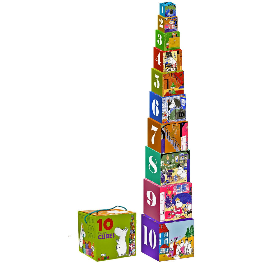 Moomin Stacking Cubes - .