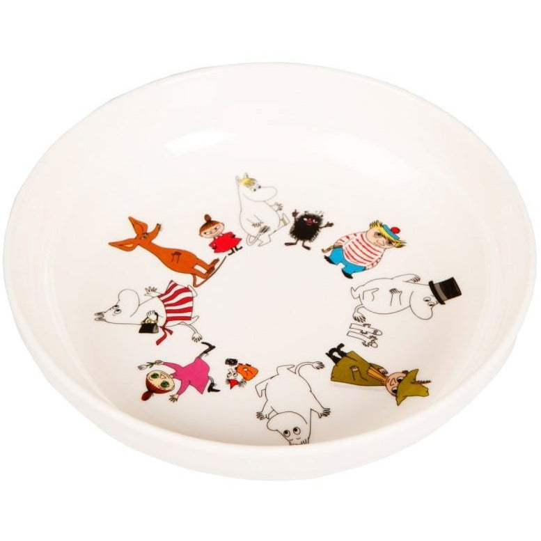 Children's Bowl Melamine Moomin Friends - .