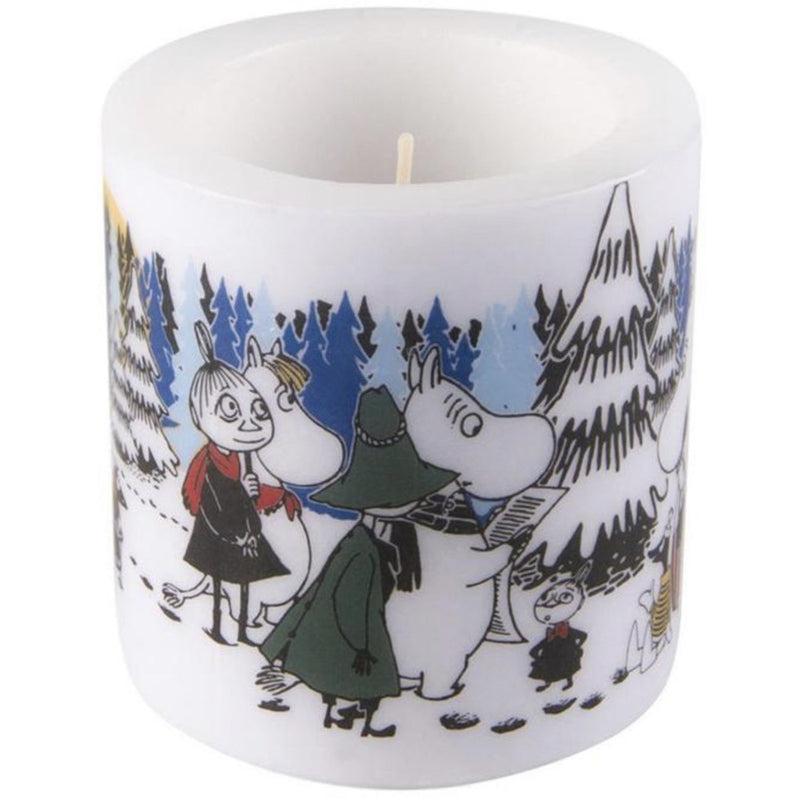 Moomin Candle Winter Forest small - .