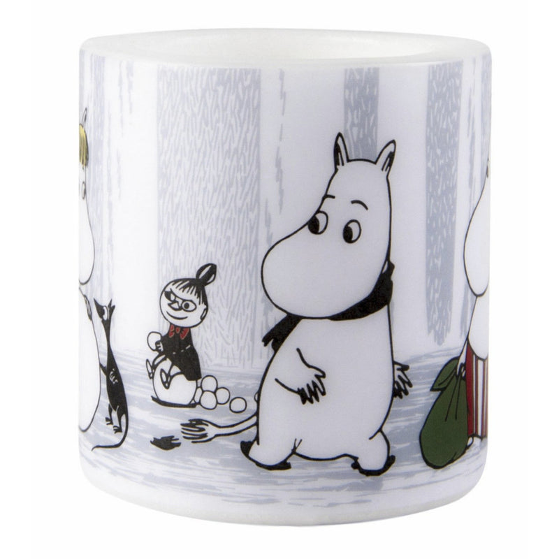 Moomin Candle Winter Trip small - .