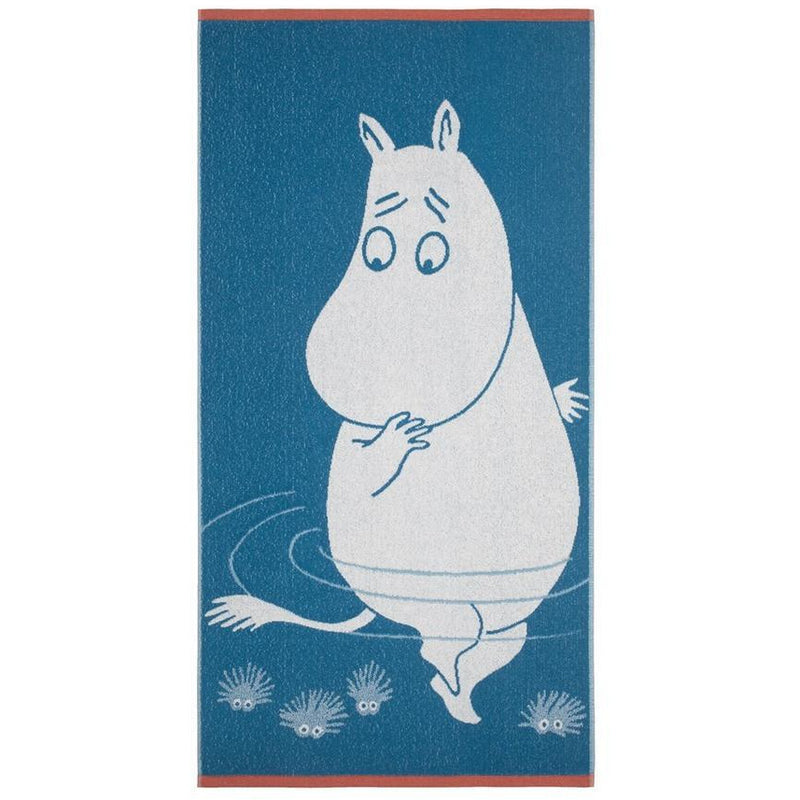 Bath Towel Moomintroll Light Blue - .
