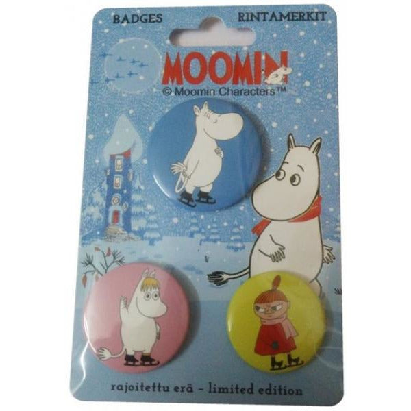 Moomin Badge Set - .