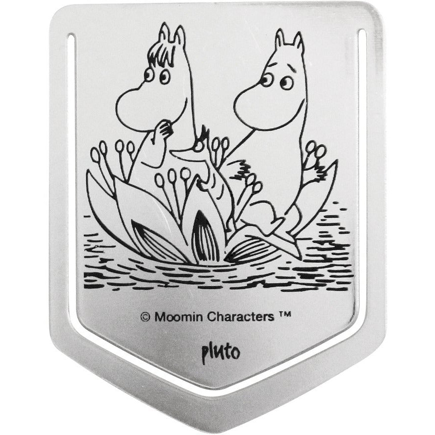 Clip On Bookmark Moomin And Snorkmaiden - .
