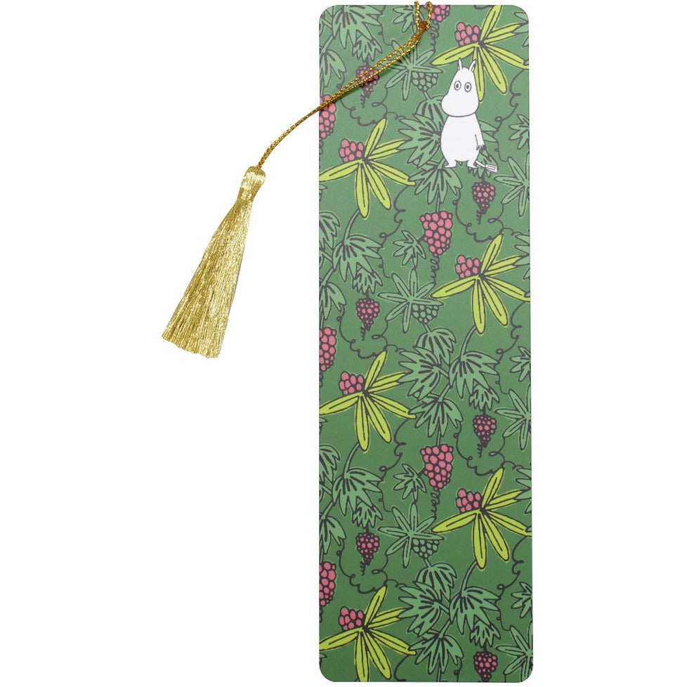 Moomin Bookmark - Lost In The Valley With Tassle - .