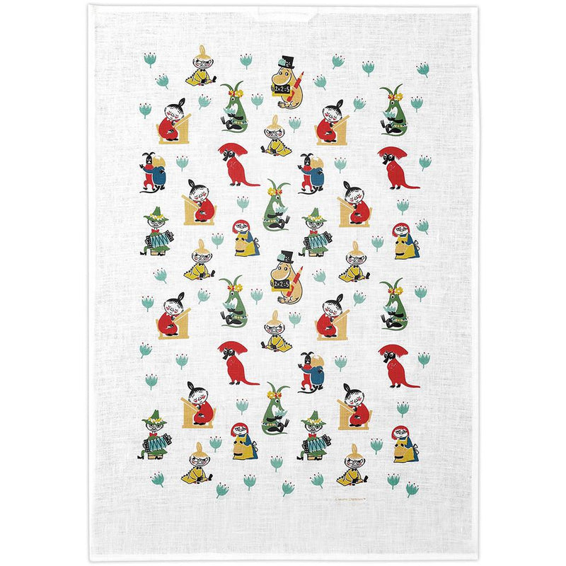 Kitchen Towel 50s Pattern - .