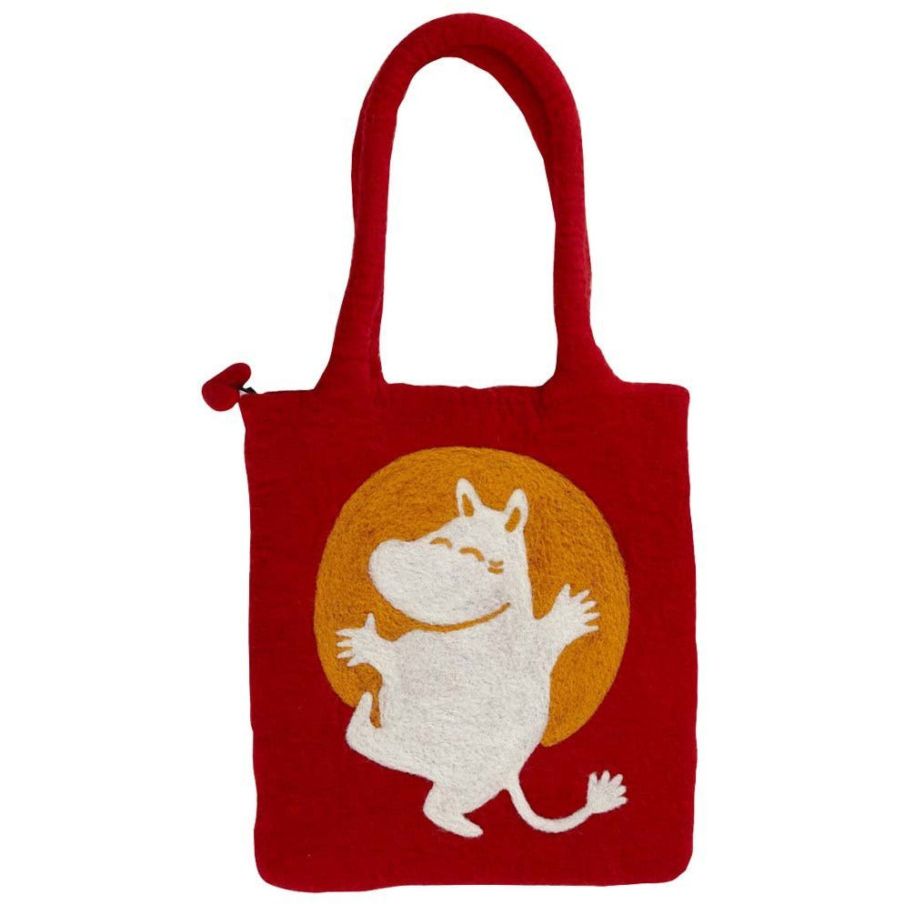 Felted Bag Moomin Red - .