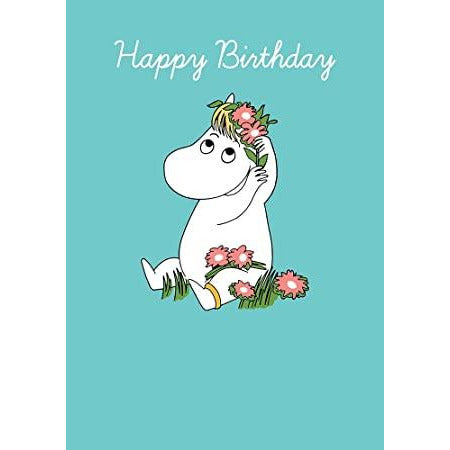 Birthday Card Snorkmaiden Turquoise - .