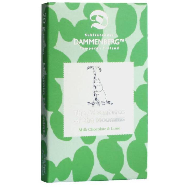 Dammenberg Moomin Milk Chocolate & Lime - .