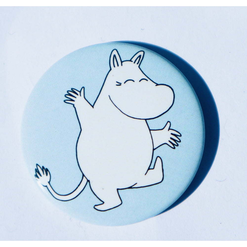 Button Badge Dancing Moomintroll - .