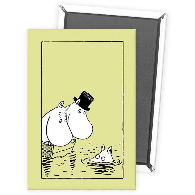 Fridge Magnet Swimming - .