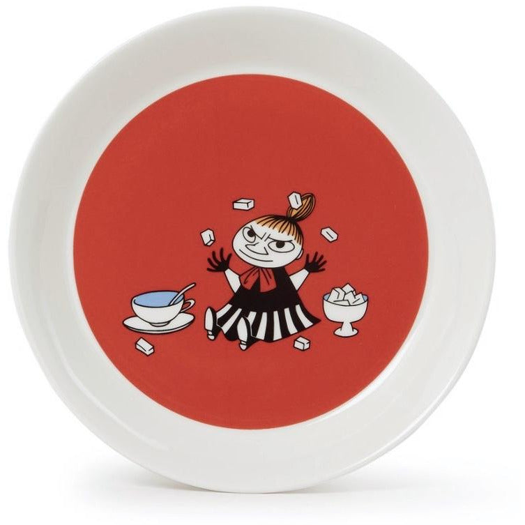 Moomin Plate Little My Red - .