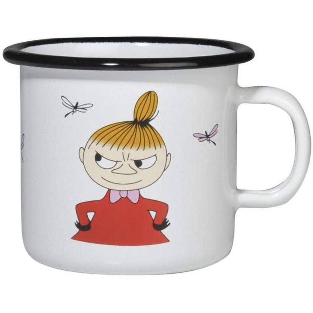 Moomin Enamel Mug 2.5 dl Little My - .